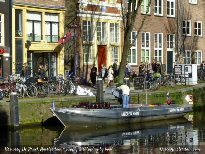 Amsterdam brewery De Prael
