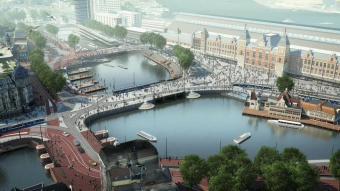 Central Station Amsterdam project