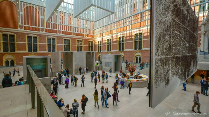 Entrance of the Rijksmuseum in Amsterdam
