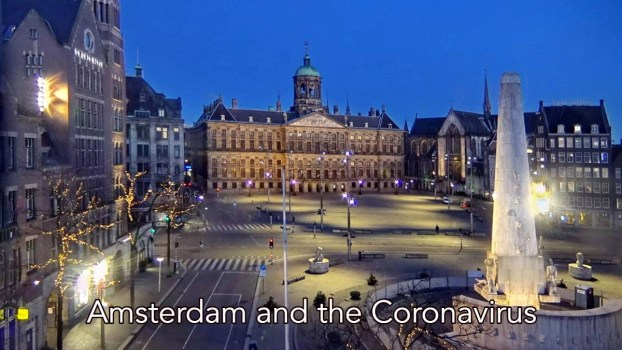 Amsterdam during the Coronavirus lockdown