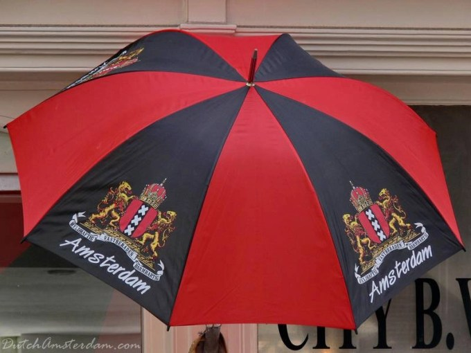 A buyer beware: the umbrellas sold in tourist/souvenir shops often don't make it through more than a week's worth of rain.