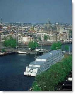 Amsterdam hotel on a boat: the Amstel Botel
