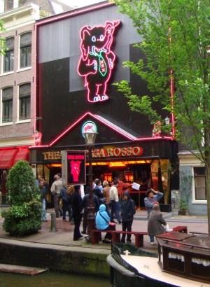 Amsterdam sex theatre Casa Rosso