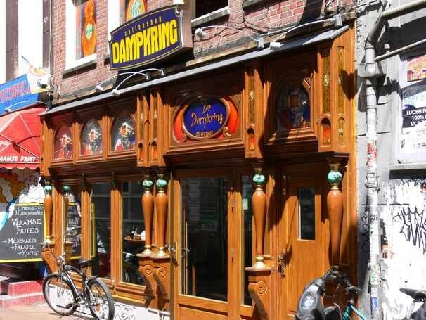 Coffeeshop Damkring, Handboogsteeg, Amsterdam