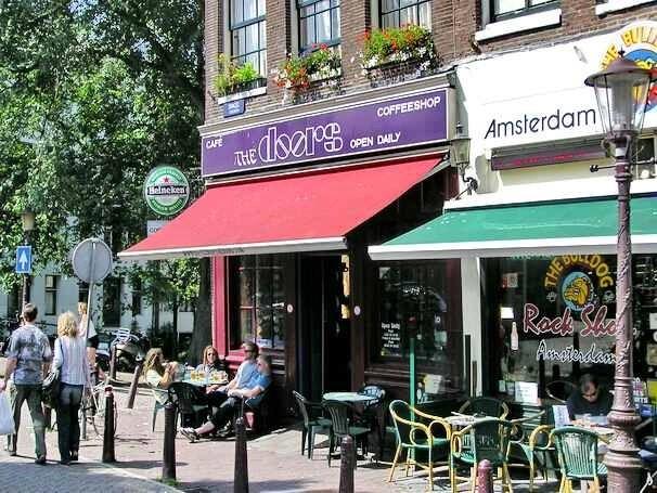 Coffeeshop The Doors, Singel, Amsterdam