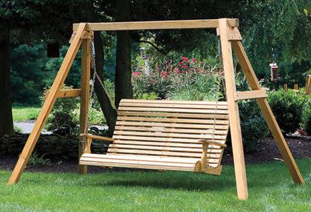 wooden chairs swings gliders dutch