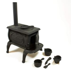 CAST IRON BOX STOVE MINI