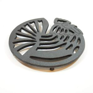 CAST IRON ROOSTER TRIVET