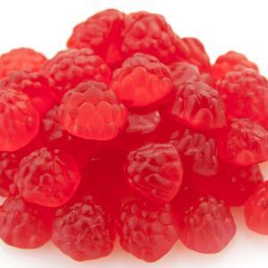Gummi Red Ripe Raspberries 1lb