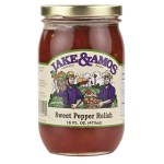 J&A Sweet Pepper Relish