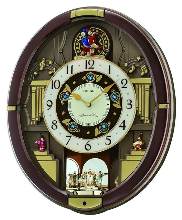 Melodies in Motion: Danube Musical Wall Clock