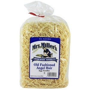 Old Fashioned Angel Hair Noodles