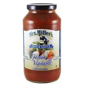Pasta Sauce Garden Vegetable