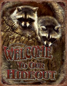 WELCOME- OUR HIDEOUT