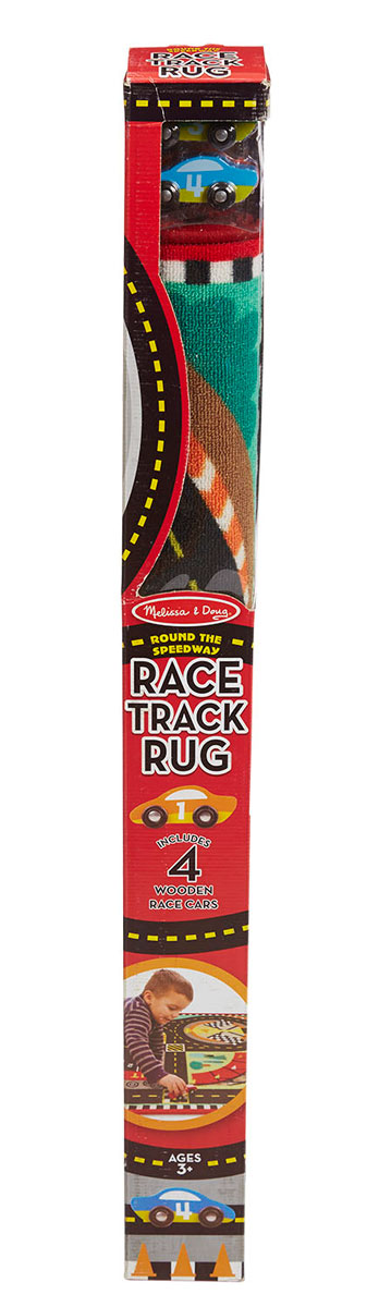 Round the Speedway Race Track Rug