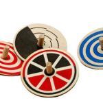 Whirligig Tops - Set of 4