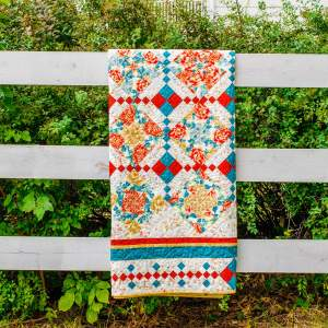 Amish and Mennonite Made Quilts - 4-Patch Stack and Whack/4-Patch Posey