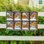 Amish and Mennonite Made Quilts - Santa's Window