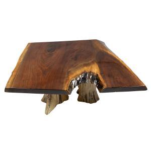Coffee Table (Double Stump High Gloss Walnut)