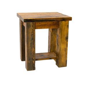 End Table w/ Shelf