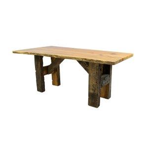 6' Table (Walnut Barn Beam Base)