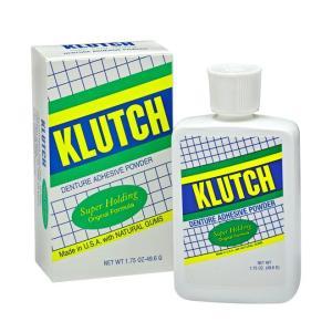 Klutch Denture Adhesive Powder