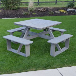 """44"""" Square Walk-In Table"""