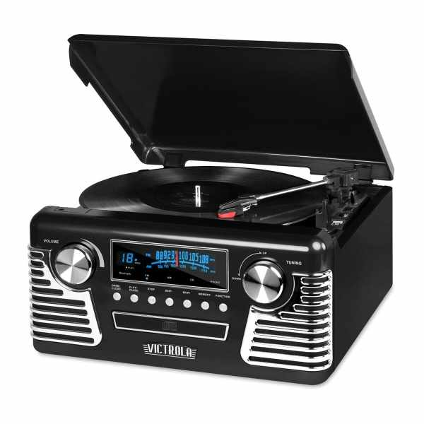 Victrola Retro Record Player with Bluetooth