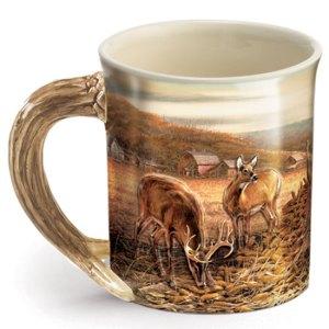 Sharing the Bounty Sculpted Coffee Mug