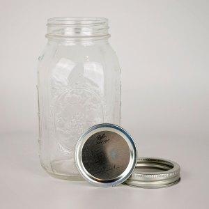 Ball Canning Jars 1 dozen Regular Mouth Quart