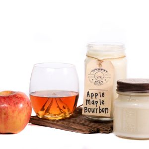 Whiskey Boat Goods Candle - Apple Maple Bourbon