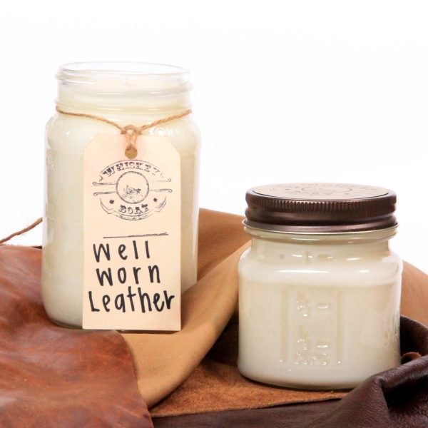 Whiskey Boat Goods Candle – Well Worn Leather