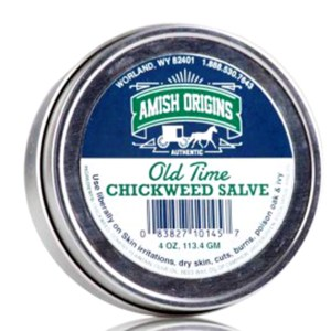 Amish Origins® Chickweed Salve 4oz