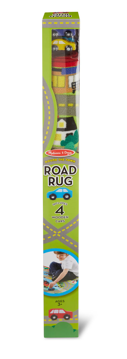 Round the Town Road Rug