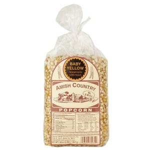 Baby Yellow Popcorn 2LB