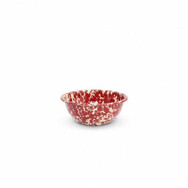 Burgundy Splatter 20 oz Cereal Bowl