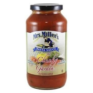 Pasta Sauce Chunky Garden