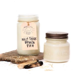 Whiskey Boat Goods Candle - West Texas Brush Fire