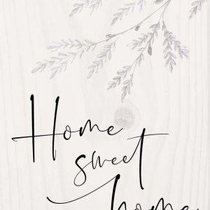 Home Sweet Home Word Block