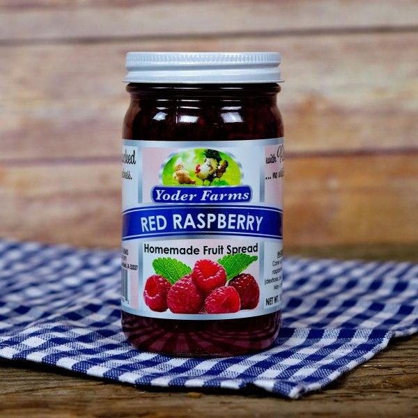 Red Raspberry Fruit Spread
