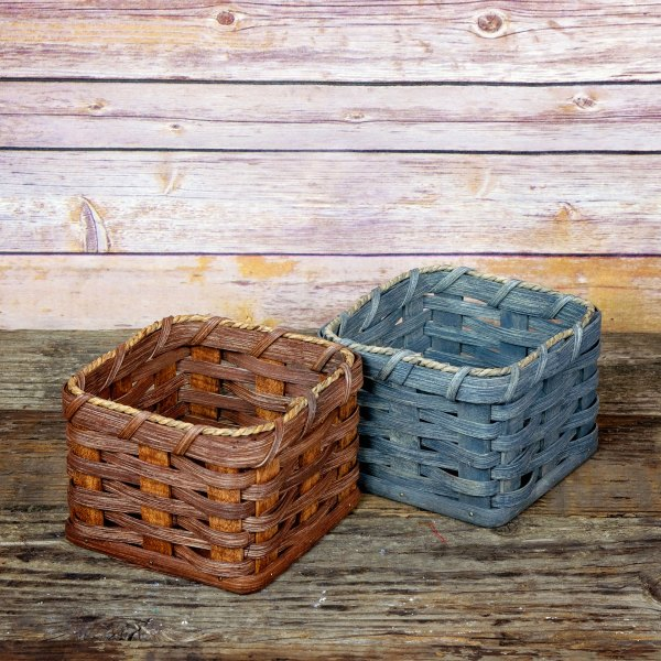 Gift Box Basket Gray