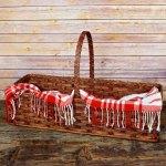 Hearth Basket Brown