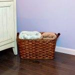 Medium Laundry Basket Brown