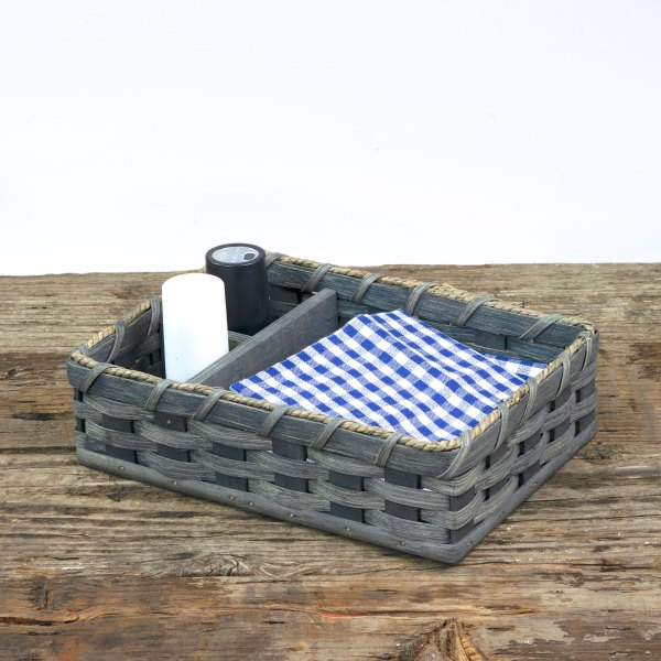 Napkin Salt Pepper Basket Gray