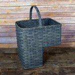 Large Organizer Basket Gray