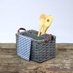 Utensil Basket Gray