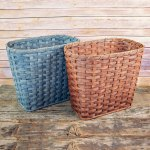 Large Waste Basket Brown