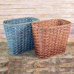Large Waste Basket Brown