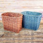 Medium Waste Basket Brown