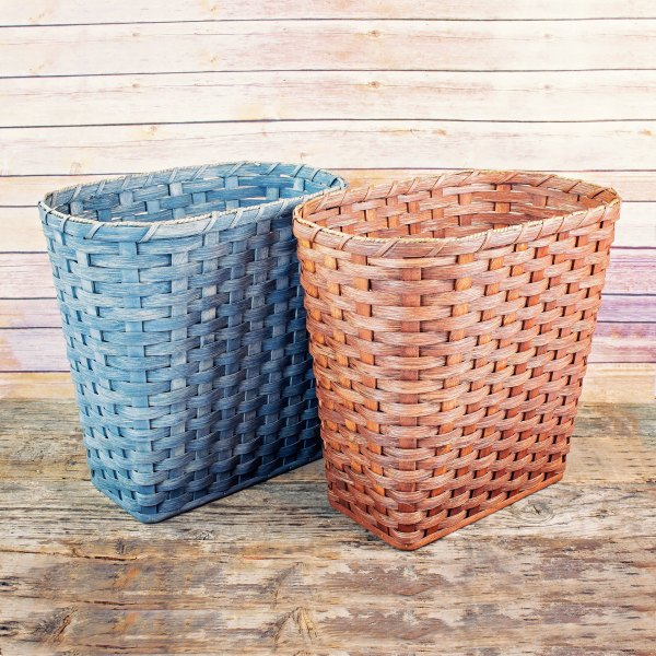 Extra Large Waste Basket Brown